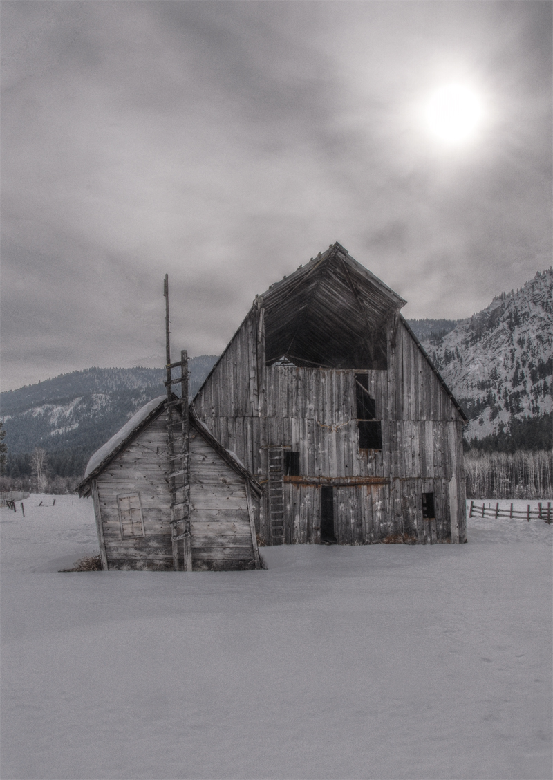 Methow Valley Barn HDR