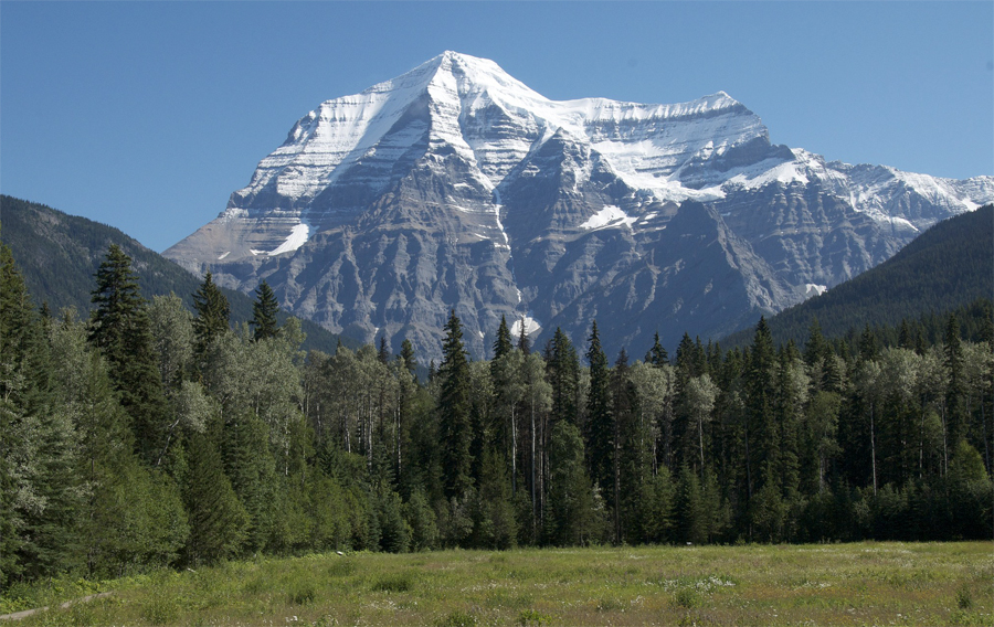 Mount Robson - Clear Day